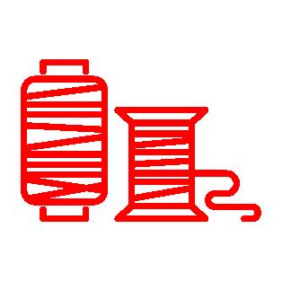 Sznurki poliestrowe, polipropylenowe